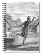 Burma: Dance, 1853 Spiral Notebook