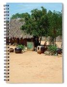 Burma Small Village Spiral Notebook
