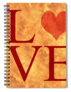 Burning Love Spiral Notebook