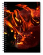 Burning Man Spiral Notebook