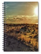 Burnt Orange Sunrise Spiral Notebook