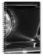 Burnt Rubber Spiral Notebook