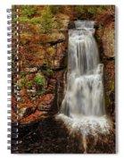 Bushkill Main Falls Spiral Notebook