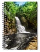 Bushkill Waterfalls Spiral Notebook