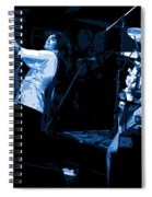 Bustin Out For Blue Winterland Spiral Notebook