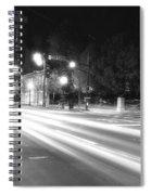 Busy Night On Peachtree _ Atlanta Spiral Notebook