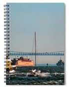 Busy Waters Spiral Notebook