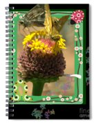 Butterflies 3d Spiral Notebook