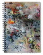 Butterfly And Dragonfly Paintings Spiral Notebook