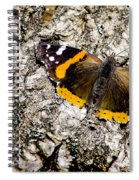 Butterfly Bark Spiral Notebook