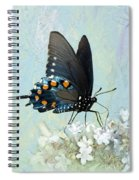 Butterfly Candy Spiral Notebook