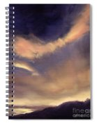 Butterfly Clouds Spiral Notebook