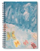 Butterfly Flight Spiral Notebook
