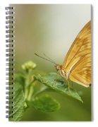 Butterfly Garden, Calgary Zoo, Calgary Spiral Notebook