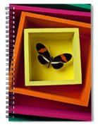 Butterfly In Box Spiral Notebook