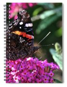 Butterfly Plant At Work Spiral Notebook