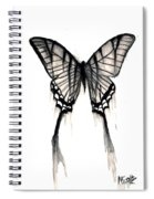 Butterfly Tears 2 Spiral Notebook