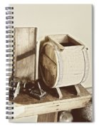 Buttermilk Churn 3540 Spiral Notebook