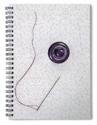 Button - Needle - Thread Spiral Notebook