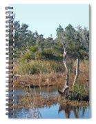 Buxton Salt Marsh - Outer Banks Nc Spiral Notebook