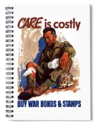 Buy War Bonds And Stamps Spiral Notebook