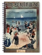 By The Beautiful Sea, 1914 Spiral Notebook