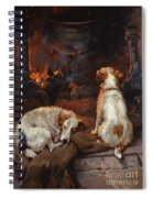 By The Hearth Spiral Notebook
