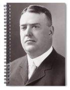Byron Bancroft Johnson Spiral Notebook