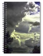 C Is For Clouds Spiral Notebook