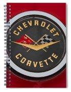 C1 Corvette Emblem Spiral Notebook