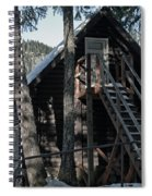 Cabin Get Away Spiral Notebook