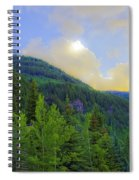 Cabin On The Mountain - Vail Spiral Notebook