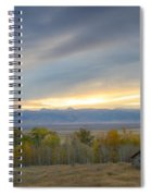 Cabin With A View Spiral Notebook