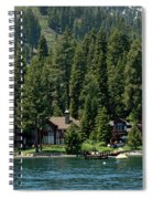 Cabins On The Lake Tahoe Spiral Notebook