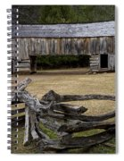 Cable Mill Barn In Cade's Cove No.122 Spiral Notebook