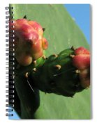 Cactus Buds Spiral Notebook