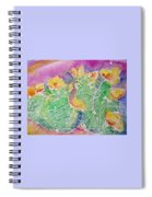 Cactus Color Spiral Notebook