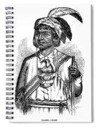 Caddo Chief, 1879 Spiral Notebook