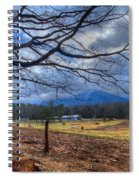Cades Cove Lane Spiral Notebook