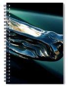 Cadillac Hood Angel Spiral Notebook