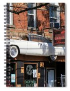 Cadillac Lounge Spiral Notebook