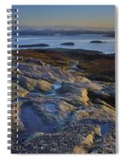 Cadillac Mountain And Frenchman's Bay Spiral Notebook