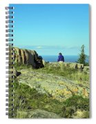Cadillac Mountain Majesty Spiral Notebook