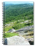 Cadillac Mountain Rocky View Spiral Notebook