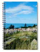 Cadillac Mountain Summit View Spiral Notebook
