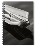 Cadillac Ornament Spiral Notebook