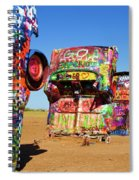 Cadillac Ranch 2  Spiral Notebook