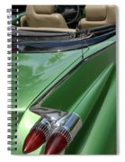 Cadillac Tail Fins Spiral Notebook