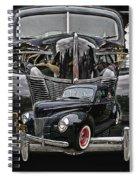 Cadp1014a-12 Spiral Notebook