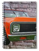 Cadp243-12 Spiral Notebook